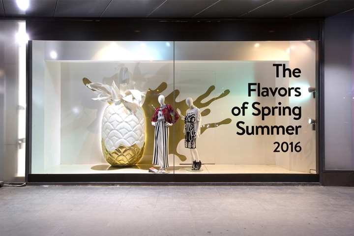 The flavors of spring summer 2016 windows by abc for 2016 window design