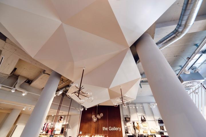 The gallery by retailpartners zurich switzerland for Interior design zurich switzerland
