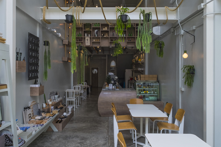 Thinkin' Outside The Fox café by party/space/design, Bangkok – Thailand
