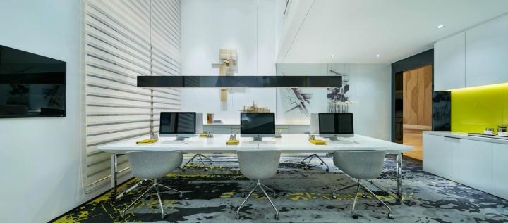 Yuexiu Nansha Cunits Creative Office Show Flat by CC Design Co