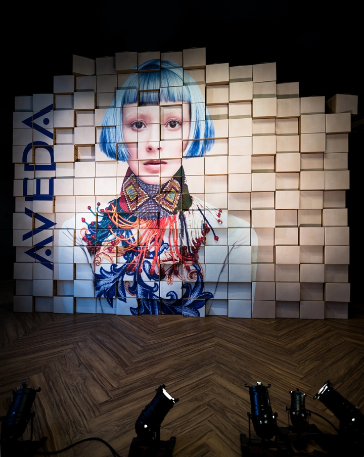 AVEDA Installation by Frank Agterberg In Netherlands