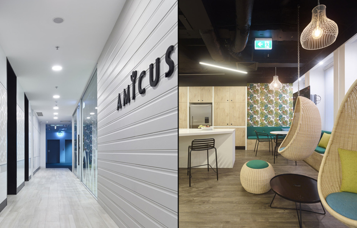 amicus interiors offices brisbane australia retail
