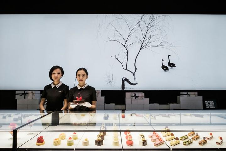 Black Swan Patisserie Beijing China 187 Retail Design Blog