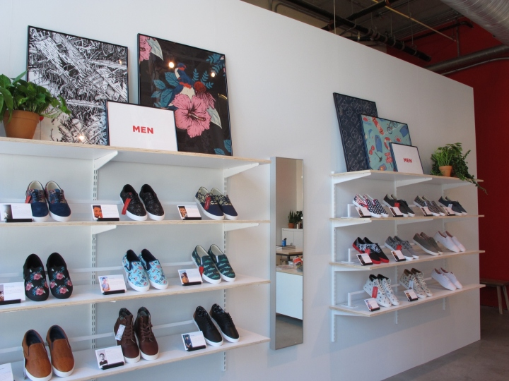 Bucketfeet Store By M Crown Washington DC September 17th 2016 Retail Design Blog