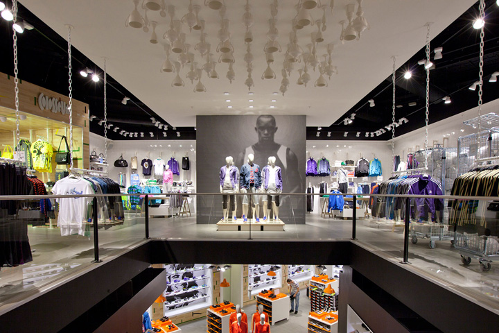 Colluseum Sportswear Store By Riis Retail Odense Denmark