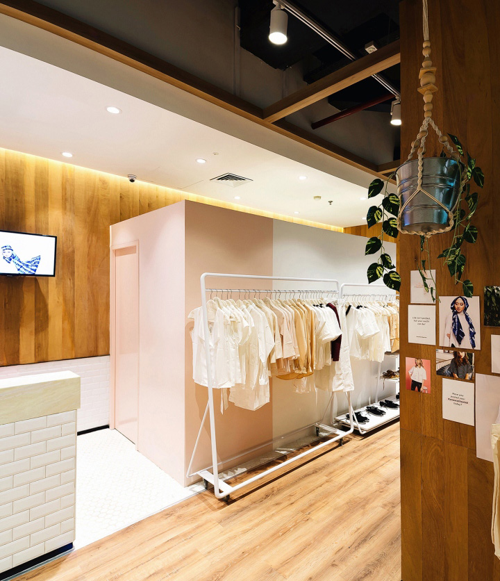 Cottonink Store By TP Architects Jakarta Indonesia