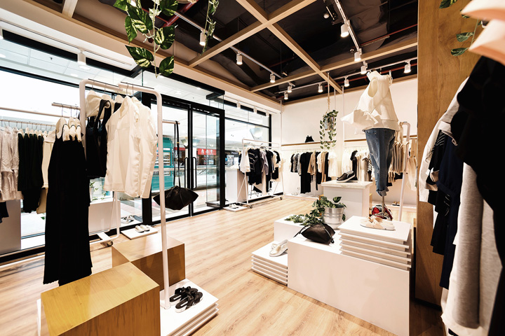 187 Cottonink Store By Tp Architects Jakarta Indonesia