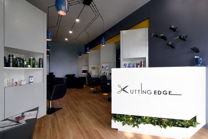 Cutting edge unisex hair studio by the crossboundaries for A cutting edge salon