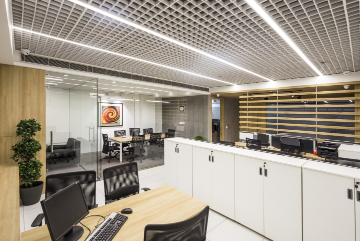 DSN securities office by Design 360, Chandigarh – India » Retail ...