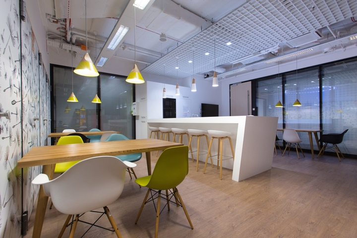 Ey offices by massive design warsaw poland retail for Office design meaning