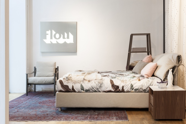 FLOU furniture exhibition at Aram Showroom in London