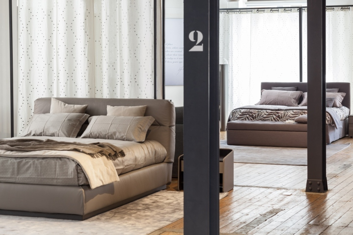 flou furniture. Furnishing Accessories For Both Sleeping And Living Quarters. The Flou Space Presents A Concept Of \u0027total Living\u0027 Demonstrates Quality, Furniture