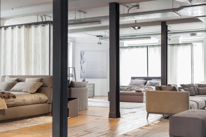 Furniture Design Exhibition London flou furniture exhibition at aram showroom, london – uk » retail