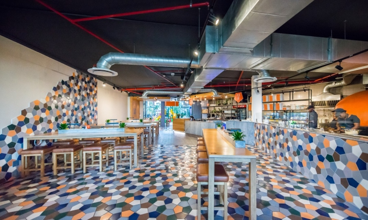 first base pizza by inhouse brand architects cape town south africa