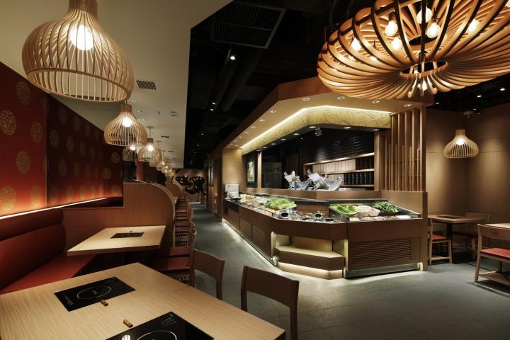 Gyujin yoho restaurant by studio c co hong kong retail