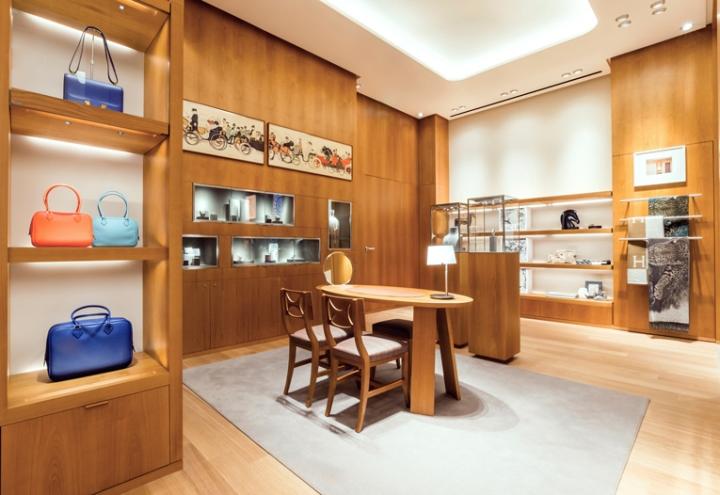 Hermès shop-in-shop by RDAI, Amsterdam – Netherlands