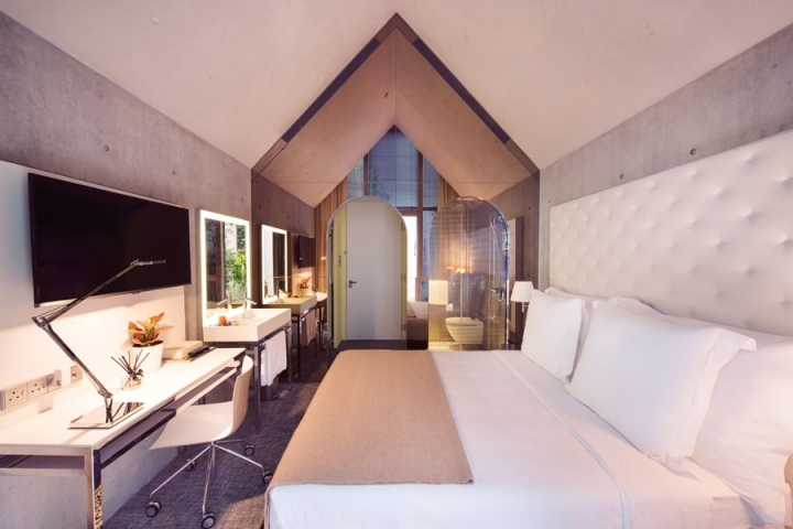 m social hotel by philippe starck singapore retail design blog. Black Bedroom Furniture Sets. Home Design Ideas