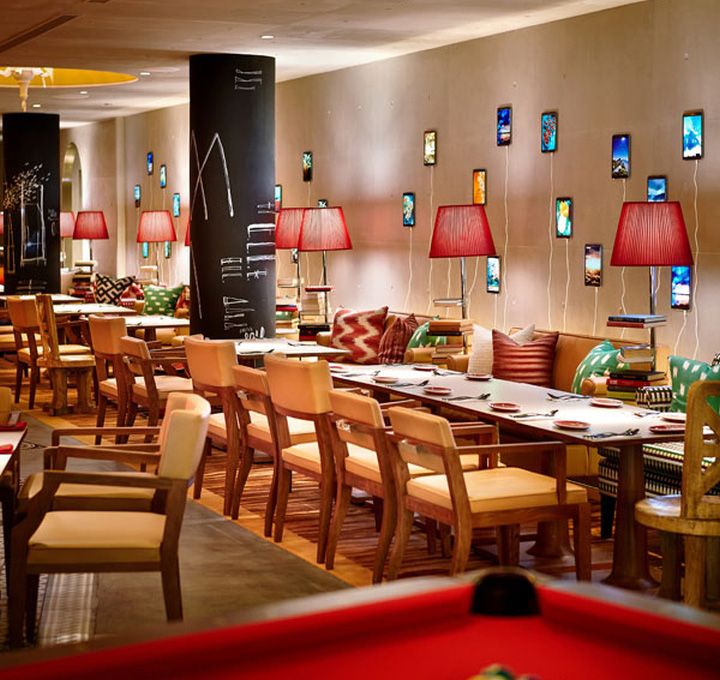 M social hotel by philippe starck singapore retail for Hotel m design