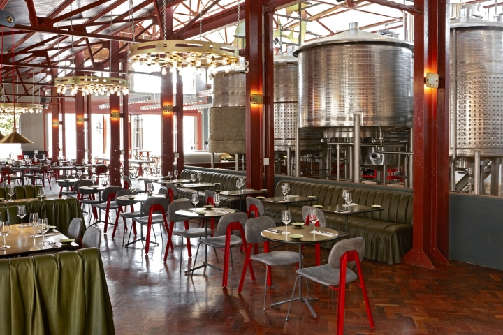 Restaurant Interior Designers South Africa : Mad giant brewery and restaurant by haldane martin