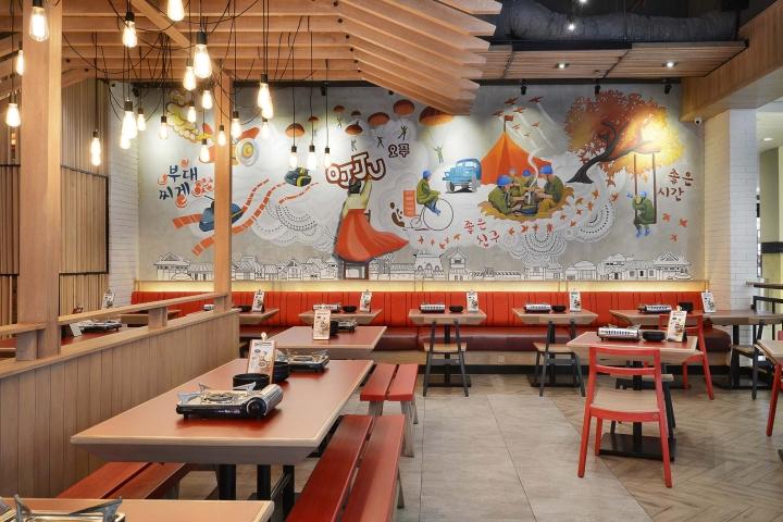Ojju restaurant by metaphor interior jakarta indonesia for Interior design jakarta