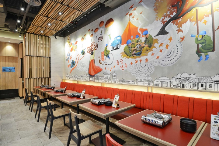 Ojju restaurant by metaphor interior jakarta indonesia for Interior design lasalle jakarta
