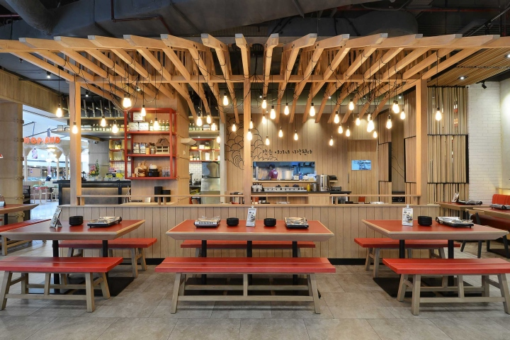 Ojju restaurant by metaphor interior jakarta indonesia