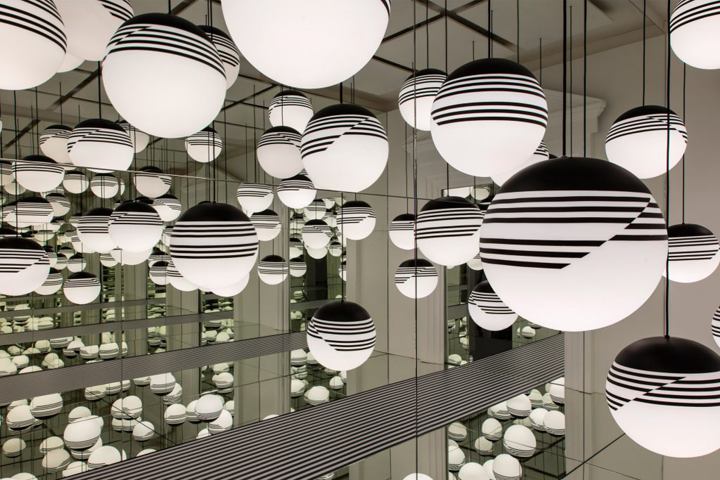 » Optical Collection Of Lamps By Lee Broom, London U2013 UK