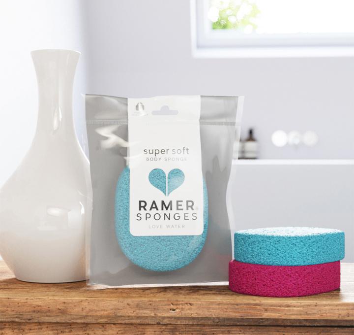 Ramer Sponges packaging by Buddy on