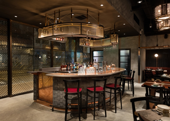 Rhoda restaurant by joyce wang studio hong kong