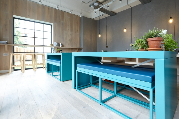 Rude Health One Of The Leading Brands In Promoting Healthier Diet On A New Destination Cafe And Events Space Adjacent To Their London Headquarters