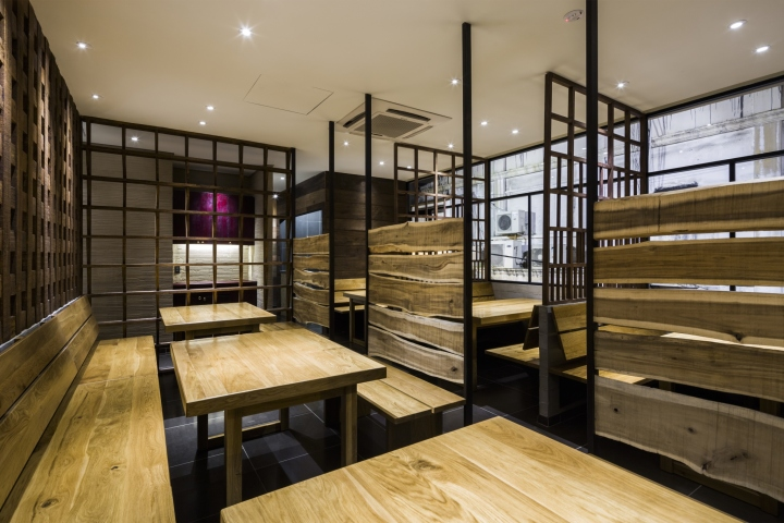 Syunkato soba restaurant by design creative associates