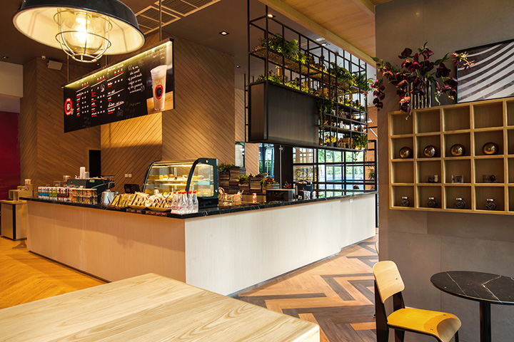 the true coffee to go cafe and co working space by whitespace rh retaildesignblog net