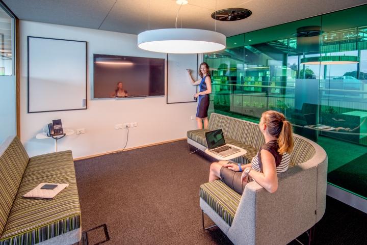 Used Office Furniture Spokane Trustpower offices by Veldhoen + Company and Warren & Mahoney ...