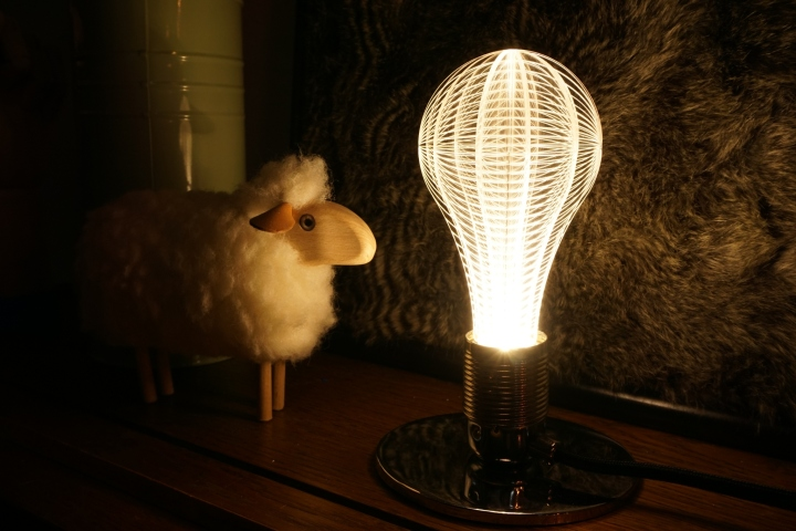 uri led light bulb by nap