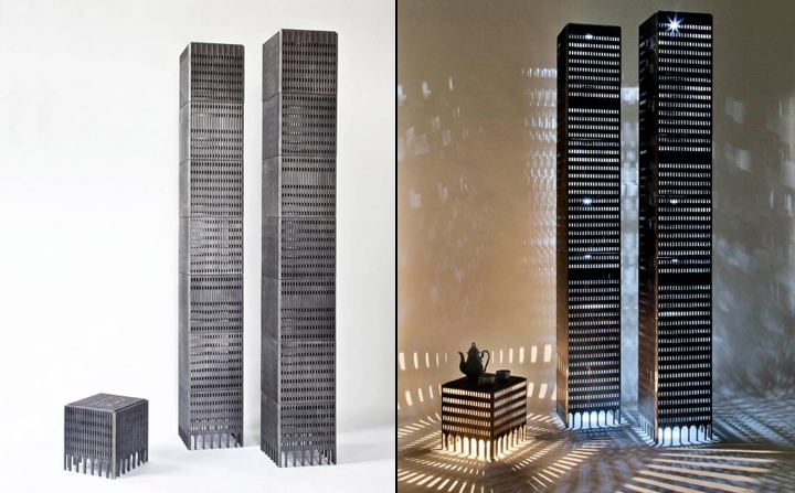 187 World Trade Center Stool Light By Rolf Bruggink