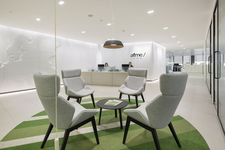 Fabric Interiors Architecture Has Designed The New Offices Of AFME Located In London Association For Financial Markets Europe Were Moving