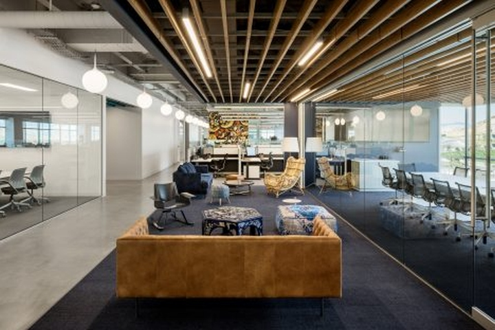 The Firm Also Designed Interiors For Adobes Utah Campus And Recently Completed A Photography Studio In California Aim Throughout Is To Root