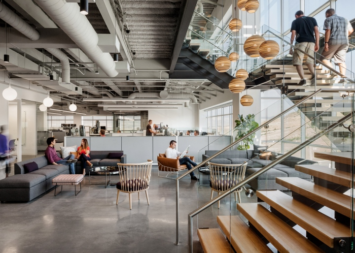 Ancestry s new office by rapt studio utah retail design for Interior design companies in usa