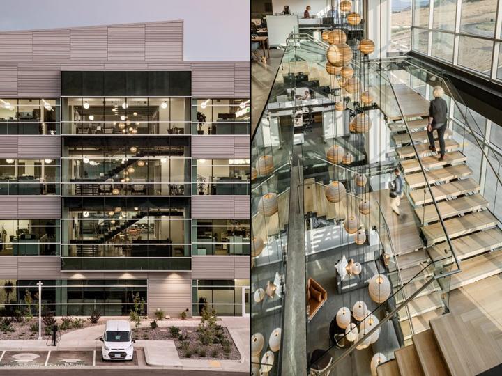 Ancestrys New Office By Rapt Studio Utah Retail Design Blog