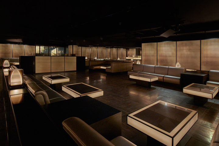 armani priv club milan italy retail design blog