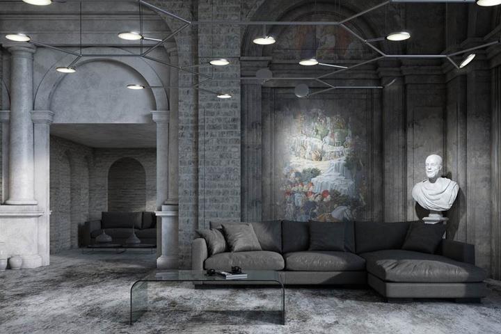 avveni modular led lighting system by code2design and sattler gmbh retail design blog. Black Bedroom Furniture Sets. Home Design Ideas