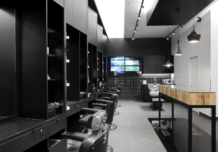 Blades barbershop by parka quebec city canada retail for Trend design shop