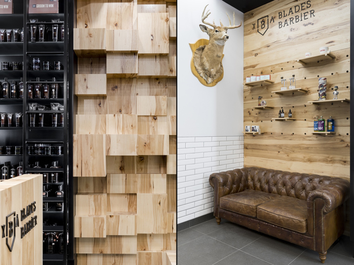Blades Barbershop by PARKA, Quebec City – Canada