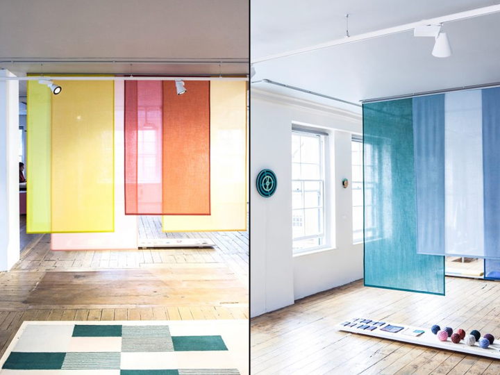 Blend exhibition by Raw Color In London