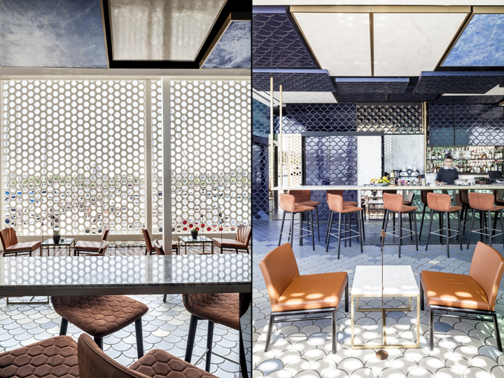 blue wave bar by el equipo creativo barcelona spain
