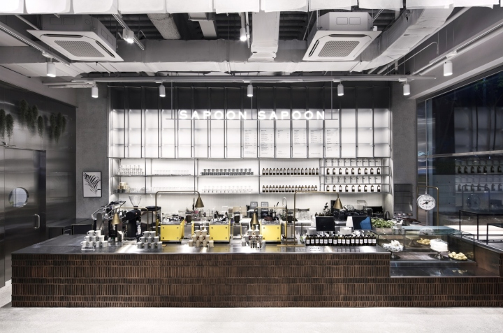 Cafe Sapoon Sapoon By Betwin Space Design Seoul Korea