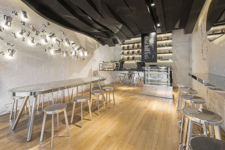 Cafe by Alberto Caiola, Shanghai – China