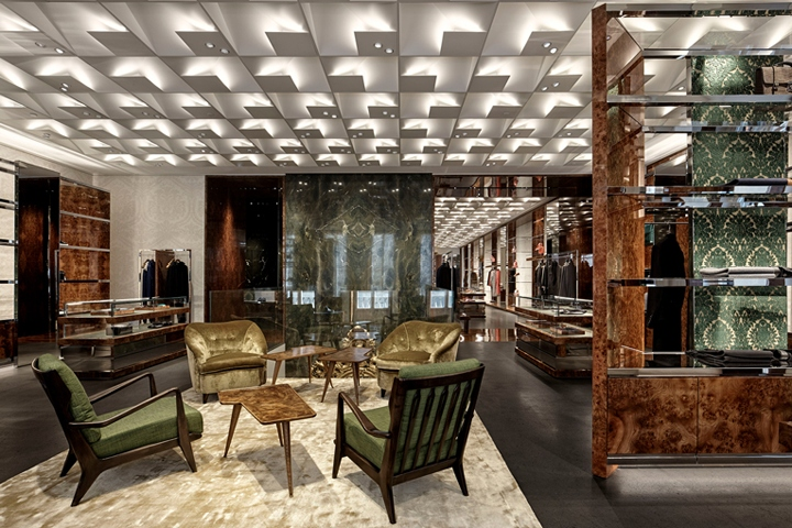 f410b163bfebe Fashion designers Domenico Dolce and Stefano Gabbana don t do minimalism,  it s as simple as that. The duo s opulent new flagship store on via  Montenapoleone ...