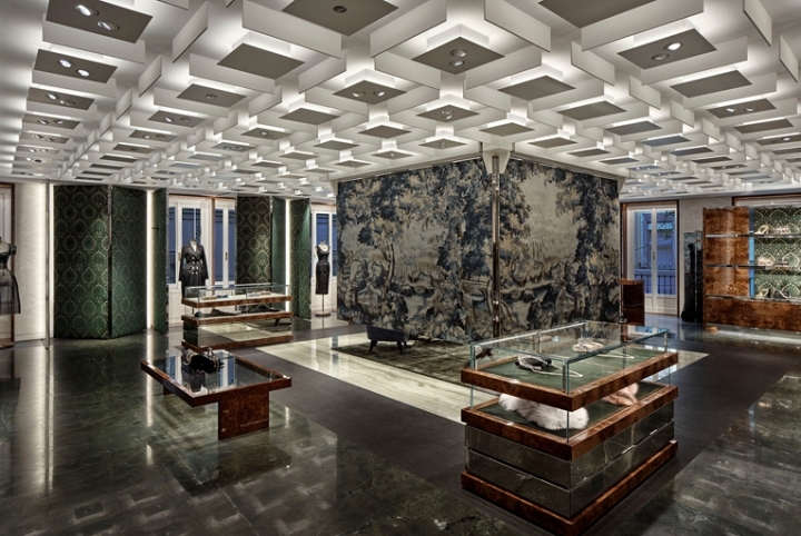 Dolce gabbana flagship store by gwenael nicolas milan for Store design milano
