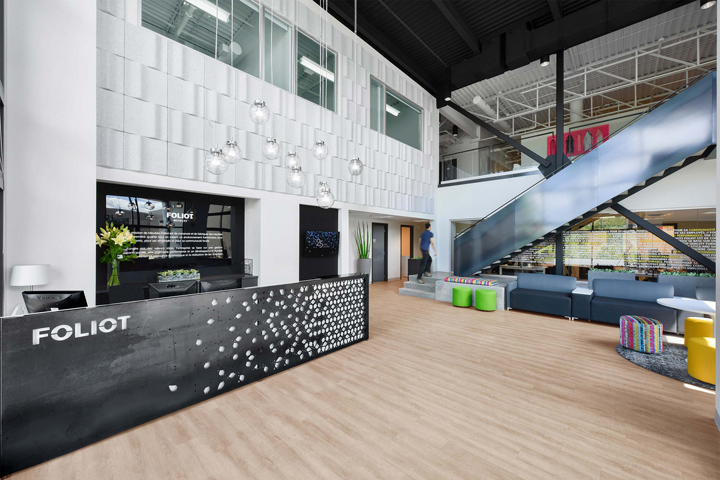 Foliot Furniture offices by Kiva Design, Saint-Jérôme – Canada